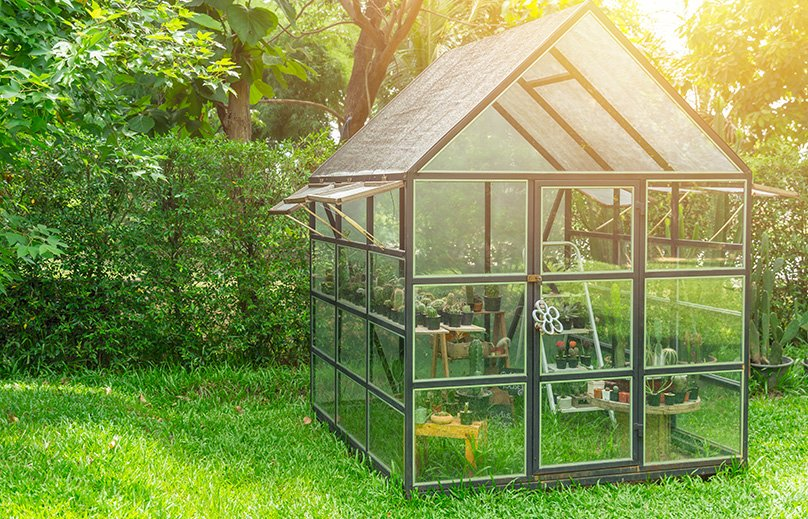 Freestanding Greenhouse