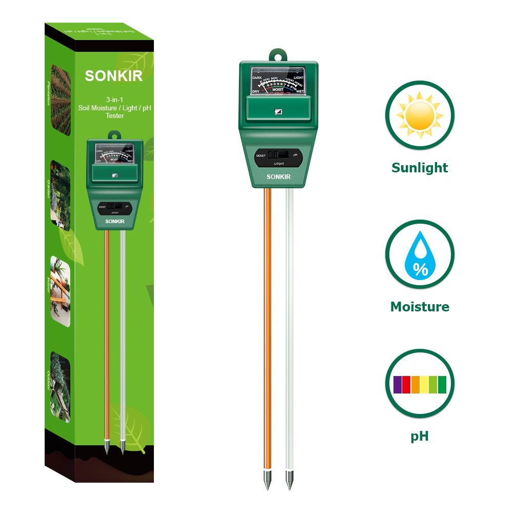 80 Test Kit 1663 Rapitest Premium Soil Test Kit Lawn Flower Plant Test Garden Tester Ph Npk