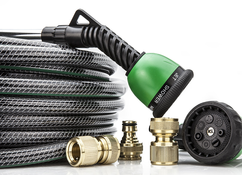 Garden hose with Brass fittings