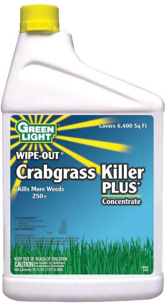 GREEN LIGHT crabgrass killer