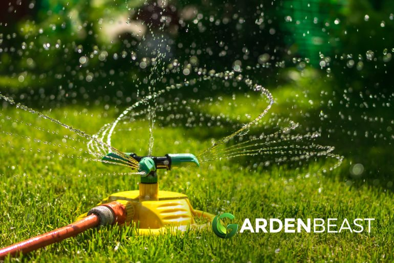 Best Above Ground Sprinkler System